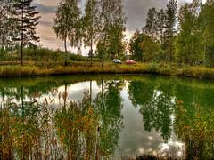Today's visit (*Wajanek) Tags: sunset lake reflections bravo poland soe regalo naturesfinest eow supershot magicdonkey ciagowice photofans impressedbeauty aplusphoto