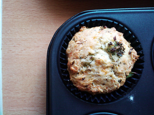Cheese and Brocolli Lunch Muffins - The Inky Kitchen
