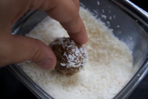 roll in coconut