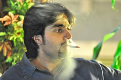 Smoke, Bad idea -    (Aziz J.Hayat   ) Tags: magazine idea smoke bad kuwait q8        abwab    yaqaza