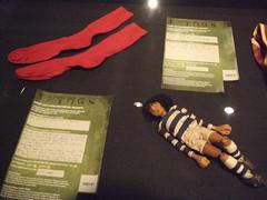 Socks + puppet.