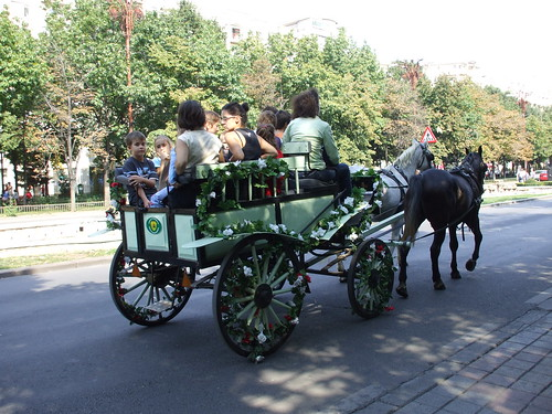 Green Carriage at Bucharest Days