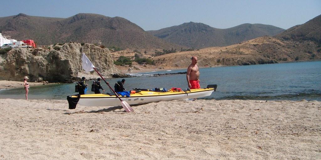 Cabo de Gata en kayak 717