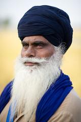 Keeper of Horses (gurbir singh brar) Tags: portrait india october spirit warrior sikhs turban punjab gaze trainer punjabi 2010 turbans singh khalsa nihang mastuanasahib keeperofhorses gurbirsinghbrar magharsingh isharsingh ਨਿਹੰਗਸਿੰਘ