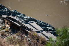 Remains of old bridge Photo