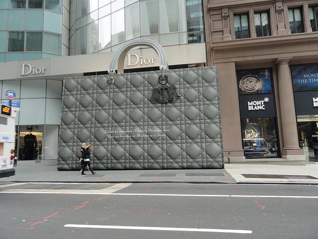 бутик диор в нью йорке