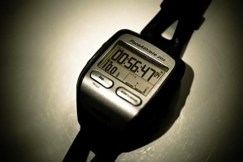 10km 56min ave5:40