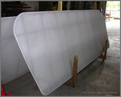 Lower Wing Panels Ready For Rib Stitching (thegreatlandoni) Tags: wood usa history america plane airplane wooden war texas unitedstates aviation volunteers wwi snapshot great wing engine scout aeroplane tommy restore restored worldwarone historical restoration preserved ww1 volunteer past greatwar amateur preserve rotary kingsbury biplane fuselage flyable pfm aeronautical adobephotodeluxe flyingmachine rotaryengine s4c thegreatwar amateurphotographer flightworthy amateurphotography thomasmorse landoni thegreatlandoni jimlandon rogerfreeman pioneerflightmuseum rotarypowered