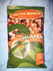 """Hotsy Totsy Jalapeno"" Moose Munch snack mix (package)"