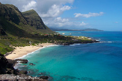 Makapuu Point (Bruce Bugbee) Tags: ocean blue usa mountains beach water beautiful sand paradise oahu hi honolulu makapuu mygearandme mygearandmepremium mygearandmebronze mygearandmesilver