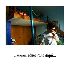 ...mmm, how do I tell you?... (angelferd) Tags: blue portrait people man male guy bed bedroom personal cigarette space room may 18th smoking exposition jorge eyeglasses intimate intimacy jurgen exposicion 2007 mansilla espacios propios angelortega angelferd espaciospropios