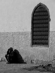 the seller's rest... (Monia Sbreni) Tags: africa people man monochrome bn ombre morocco maroc marocco marrakech marruecos marokko biancoenero moroccan marrocos questfortherest 10faves diamondclassphotographer flickrdiamond oldcity sfidephotoamatori bachspicsgallery moniasbreni