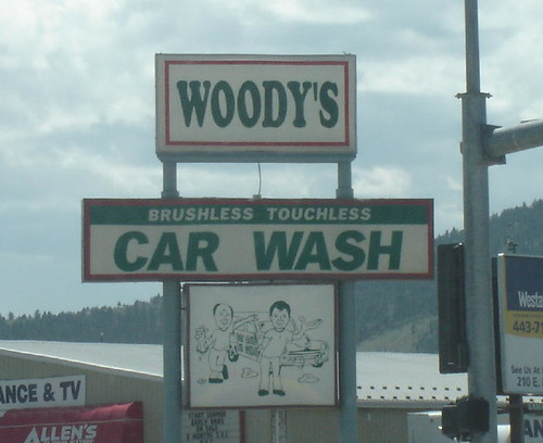 Beavis & Butthead car wash.