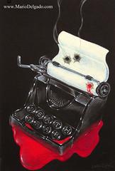 Death trap (delrio320) Tags: poster play murder bookcover filmnoir deathtrap filmnoirposter