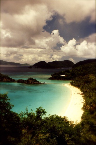 trunk bay us virgin islands scenic panoramic