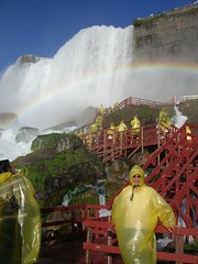Dad and American Falls (greeneggs379) Tags: niagarafalls waterfall americanfalls