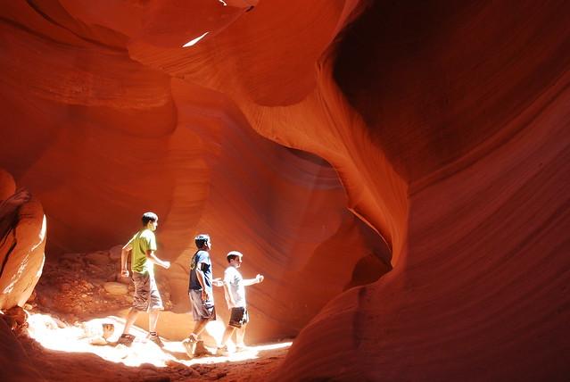 Antelope canyon idiots