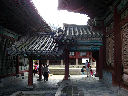 Rear, Myeongjeongjeon Hall