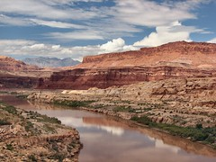 The Colorado from the Hite Crossing Bridge (rovingmagpie) Tags: utah coloradoriver day4 lakepowell route95 hite naturesfinest 7days6nights