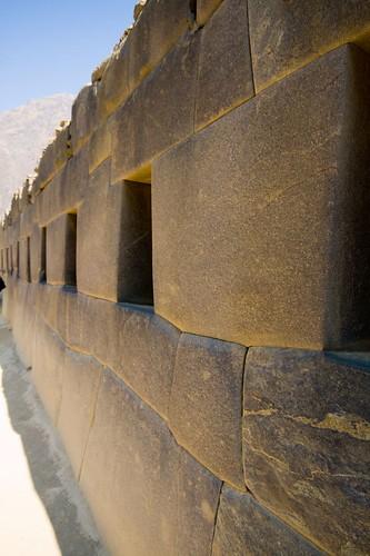 Inca Temple at Ollantaytambo