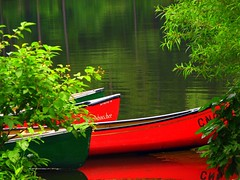 Canoes (*labaronesa*) Tags: trees atlanta red lake green nature outdoors interestingness bravo explore canoes 213 cnc blueribbonwinner lindab chattahoocheenaturecenter labaronesa anawesomeshot impressedbeauty 1130a