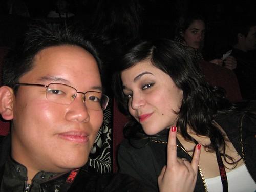 Me and Miriana Moro