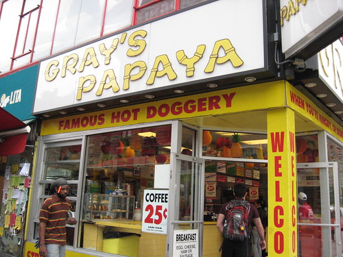 The Recession Special at Gray's Papaya