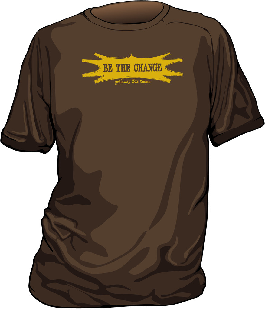BE THE CHANGE youth t-shirt