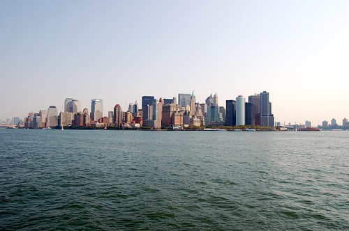 Lower Manhattan, viewed from the south