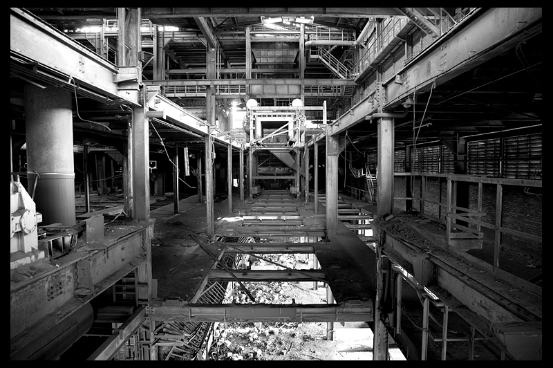 urbex urban exploration decay abandoned infiltration Germany Deutschland sintering plant sinteranlage