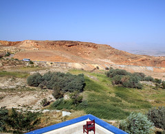در انتظار مسافر... (matiya firoozfar) Tags: blue sky green landscape chair iran mahallat markazi matiya firoozfar ماتیافیروزفر markaziprovince