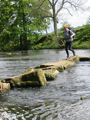 Stepping Stones (lairddoog) Tags: derbyshire steppingstones rivercrossing