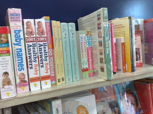 New Books on Pregnancy, Baby Names, Etc  -