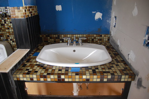 tile 101: how to build & tile counters - diydiva