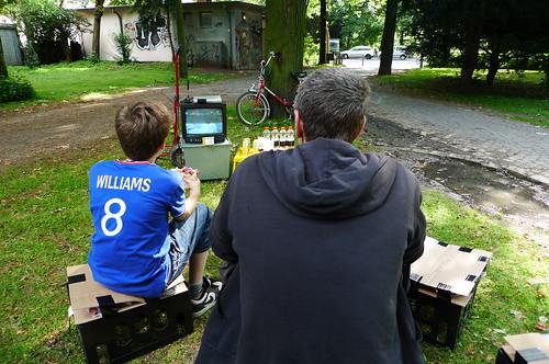 90 Minuten Publik Viewing Plätzchen zur Fußball WM 2010