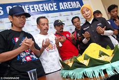 Launching Toko Arema (Ongisnade Official Photo) Tags: indonesia toko launching arema aremania