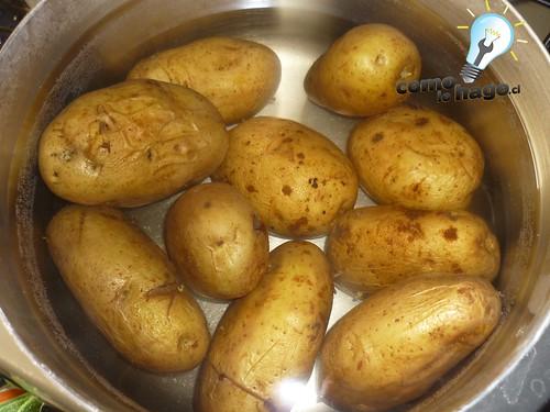Cómo preparar papas rellenas al horno