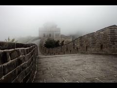 Into the fog (Kaj Bjurman) Tags: china white mist fog wall eos chinese 5d hdr kaj markii cs4 photomatix bjurman