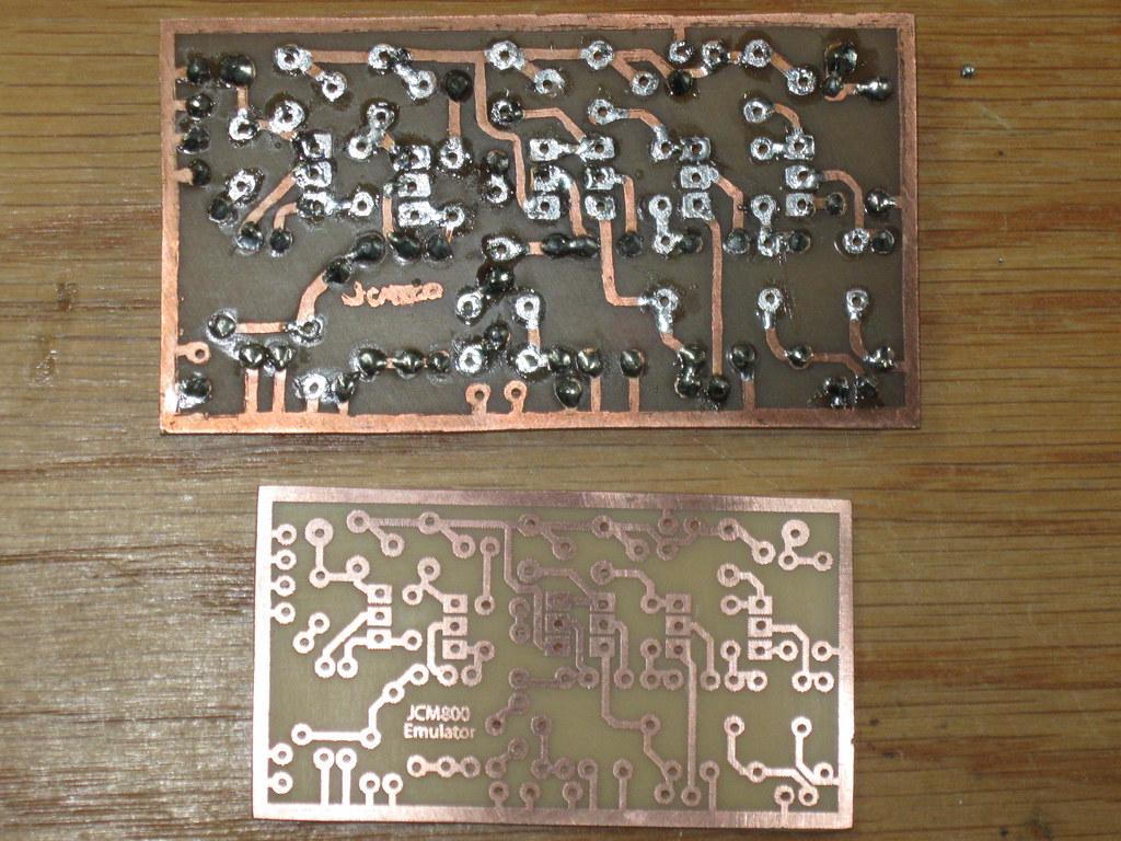 JCM 800 Emulator pedal build