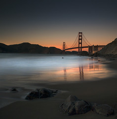 Golden Gate Twilight (nlwirth) Tags: longexposure color goldengatebridge yup fromthearchives pixiedust superaplus aplusphoto somerockstoo