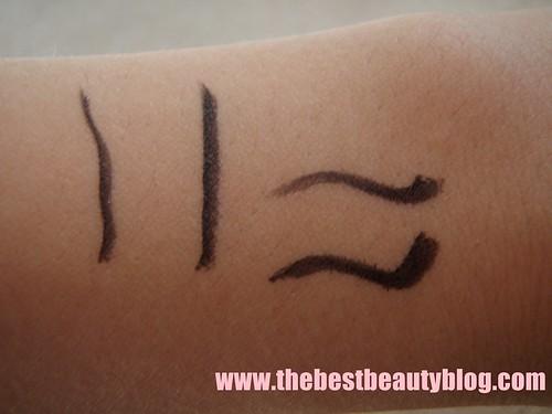 Rimmel, eyeliner, Rimmel Flash, felt-tipped, pen liner, arm swatch