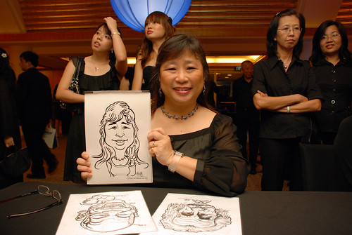 Caricature live sketching for Great Eastern D&D - 13