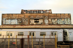pemex noxer pj dez dro ze (Luna Park) Tags: nyc ny newyork brooklyn subway graffiti acc pj mta lunapark dod xtc dez dro ze ftrain pemex noxer