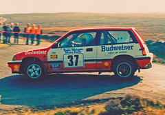Gerry Mgarrity (howiefowler) Tags: rally budweiser isleofman hondacivic manxrally