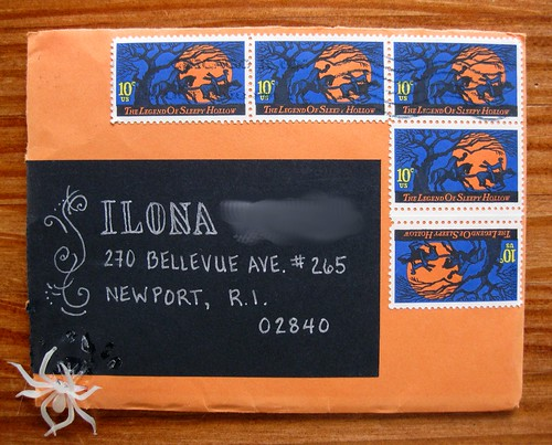 spooky sleepy hollow stamps