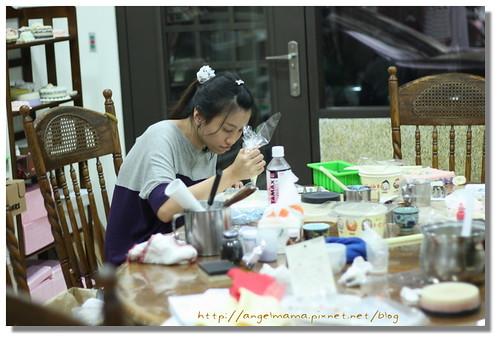 天使媽媽蛋糕皂課程 028