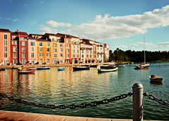 Home away from home. (eRachel11) Tags: vacation italy water boats hotel bay orlando nikon florida portofino universalstudiosflorida portofinobayresort d7000 nikond7000 fakeitaliancoast