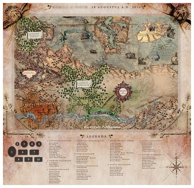 Karolina & Zbyszek – mapa sali