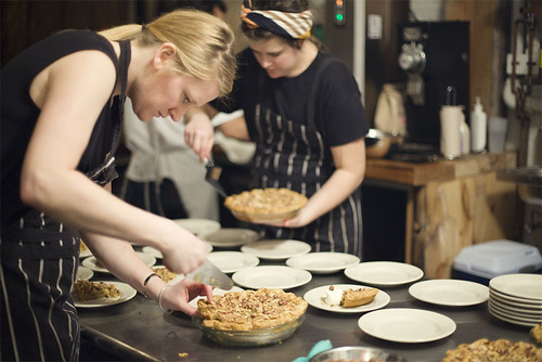 Pie For Dinner at Four & Twenty Blackbirds