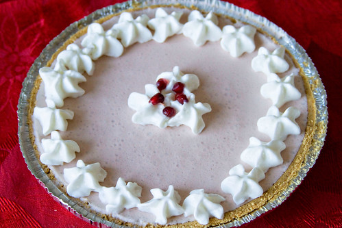 Pomegranate White Chocolate Mousse Pie - 5